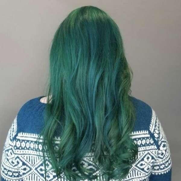 Etter bilde VB emerald green