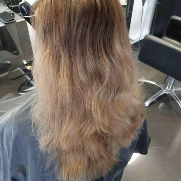 Før green hair VB