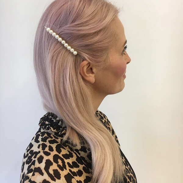 Lys-rosa-hår