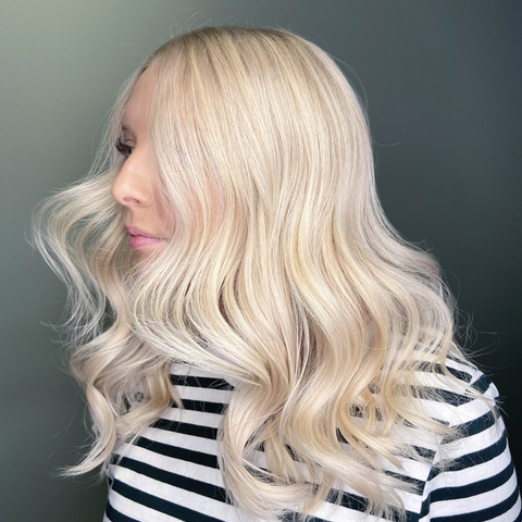 blondthår